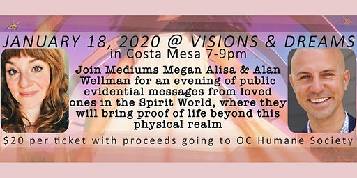 An Evening of Spirit Messages - benefit for OC Humane Society
