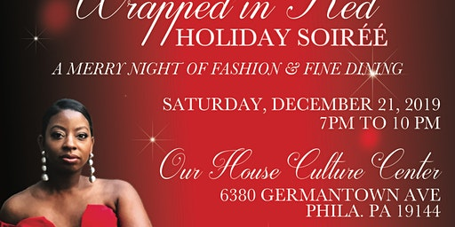 Wrapped In Red; A Holiday Soiree