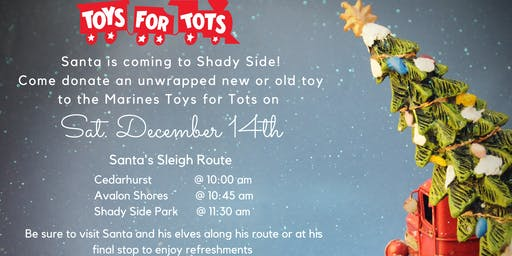 Toys for Tots, Toy Drive!