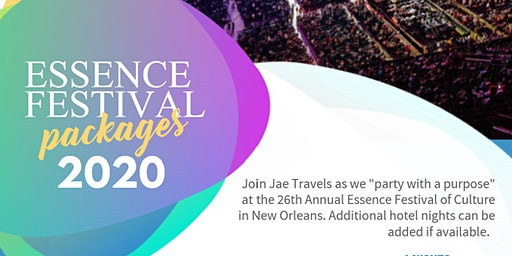 Essence Festival 2020 Hotel & Party Packages