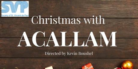 Christmas with Acallam tickets