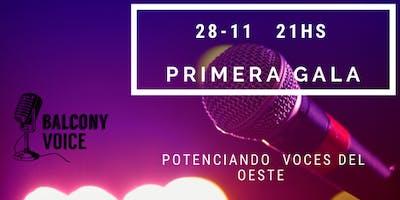 Balcony Voice Primera Gala