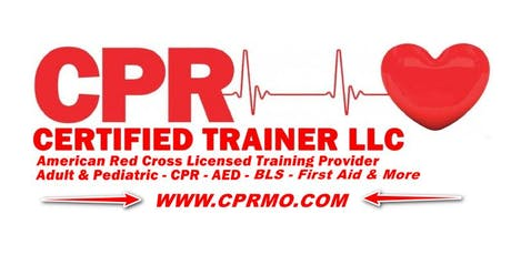 Kansas City - American Red Cross - Adult CPR / AED Class - Kansas City, MO tickets