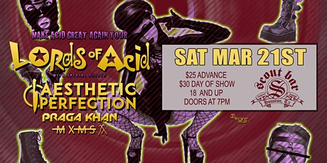 Lords of Acid - Make Acid Great Again Tour tickets