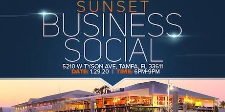 Sunset Business Social at Hula Bay tickets