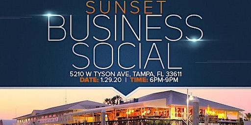 Sunset Business Social at Hula Bay