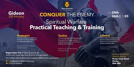 Spiritual Warfare Practical Training tickets