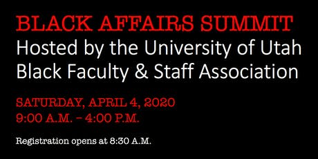 4th Annual State of Utah Black Affairs Summit tickets