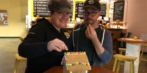 Team Gingerbread House Decorating Contest