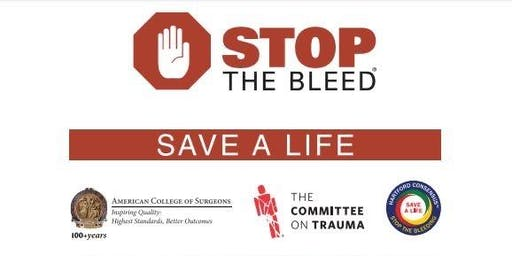 Stop the Bleed/Hands Only CPR Class (FREE)