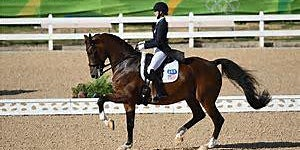 Laura Graves 2020 Dressage Clinic