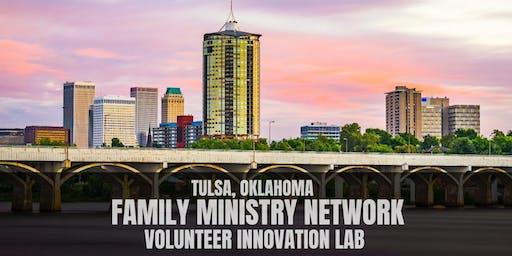 Tulsa Family Ministry Network Lunch: Volunteer Innovation Lab