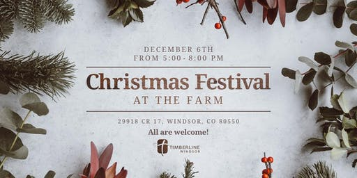 Christmas Festival at the Farm