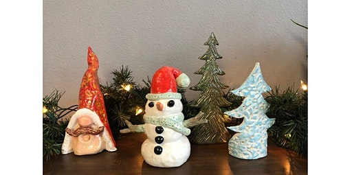Holiday Clay Figures - Drop In (2019-12-17 starts at 2:00 PM)
