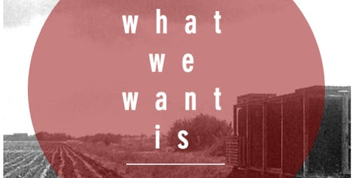 what we want is _________