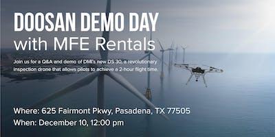 Doosan Drone Demo Event | MFE Rentals