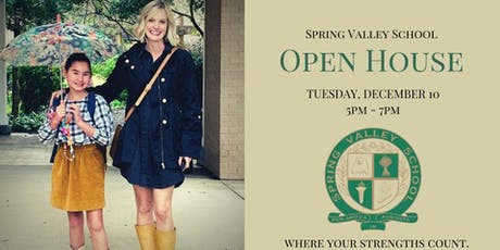 Spring Valley School Open House tickets