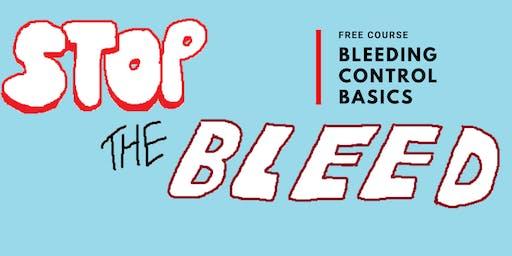 Stop the Bleed: Bleeding Control Basics- Free Course!