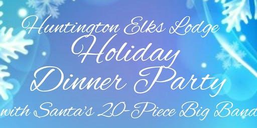 Huntington Elks Lodge Holiday Dinner Party