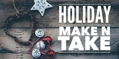 Adults Only Make-it Take-it Holiday Bazaar tickets