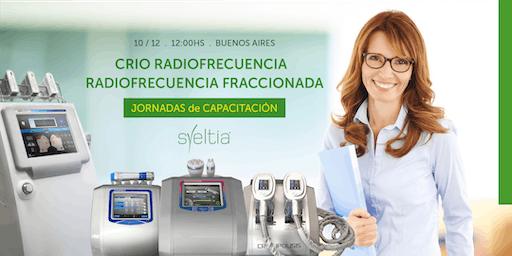 Crio radiofrecuencia y radiofrecuencia fraccionada.