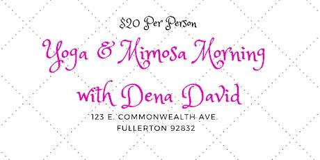 Yoga & Mimosa Morning by Dena David tickets