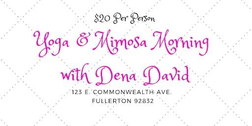 Yoga & Mimosa Morning by Dena David