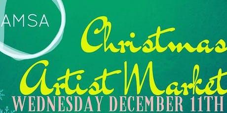 AMSA Christmas Artist Market tickets