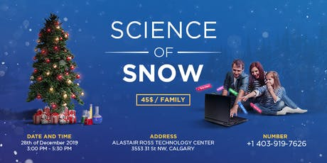 The Science of Snow tickets