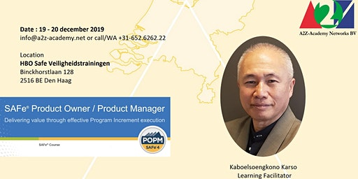 SAFe Product Owner/Product Manager POPM1924