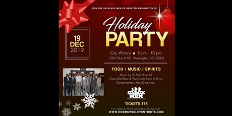 100 Black Men of Greater Washington Holiday Party tickets
