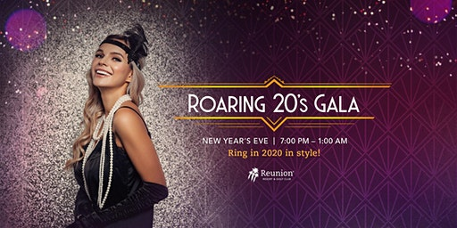 Roaring 20's New Year's Eve Gala at Reunion Resort