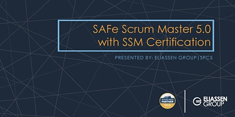 SAFe Scrum Master with SSM Certification - Tampa - April tickets