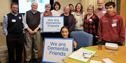 Dementia Friends Information Session at LiveWell December 17, 2019