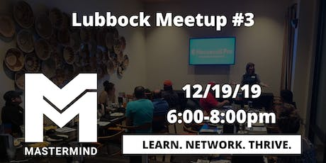 Lubbock Home Service Professional Networking  Meetup #3 entradas