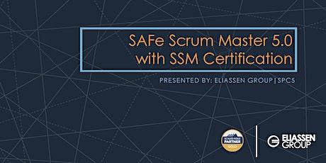 REMOTE DELIVERY - SAFe Scrum Master with SSM Certification - Atlanta - December tickets