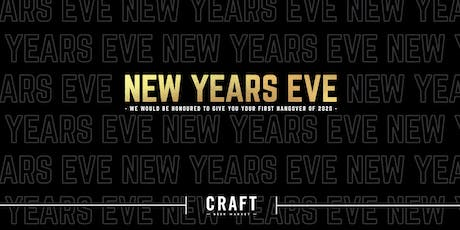 CRAFT's Black & Gold New Year's Eve tickets