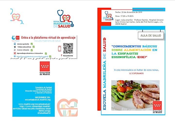 Imagen de Conocimientos básicos sobre alimentación en la Esofagitis Eosinofílica