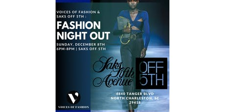 A Fashion Night Out tickets
