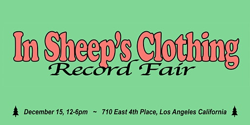 In Sheep's Clothing Record Fair