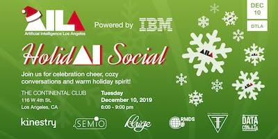 AI LA Holid(AI) Social Powered by IBM