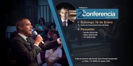 2da Conferencia de Asilo Político por Xavier A. Méndez tickets