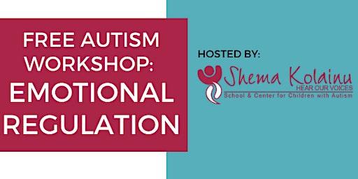 Free Autism Workshop: Emotional Regulation | Hosted by Shema Kolainu