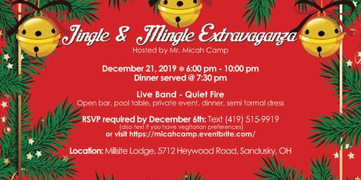 Exclusive Jingle&Mingle extravaganza