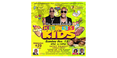 The Second Annual Klass For The Kids tickets