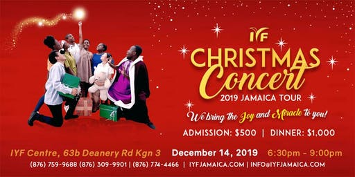 2019 IYF Christmas Concert Tour - Kingston