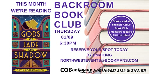 Backroom Book Club at Bookmans Northwest