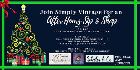 After Hours Sip and Shop tickets