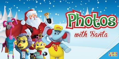 Photos with Santa tickets