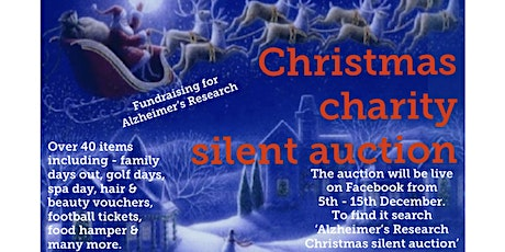 Alzheimer's Research Christmas Silent Auction  tickets
